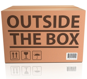 Outside the Box innovation, unconventional and creative thinking